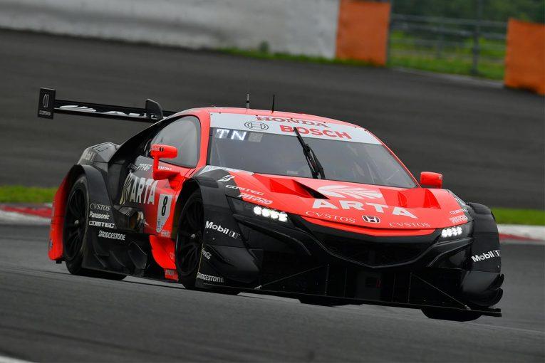 スーパーGT | スーパーGT富士公式テスト:2日目午後はARTA NSX-GTがトップタイムでテストを締めくくる