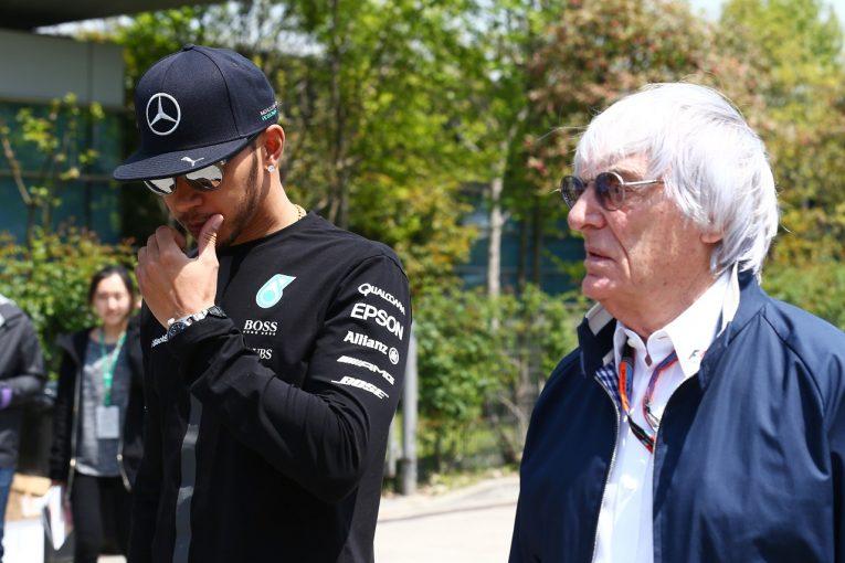 F1   元最高権威者エクレストンの人種差別問題に関するコメントを、F1とハミルトンが激しく批判