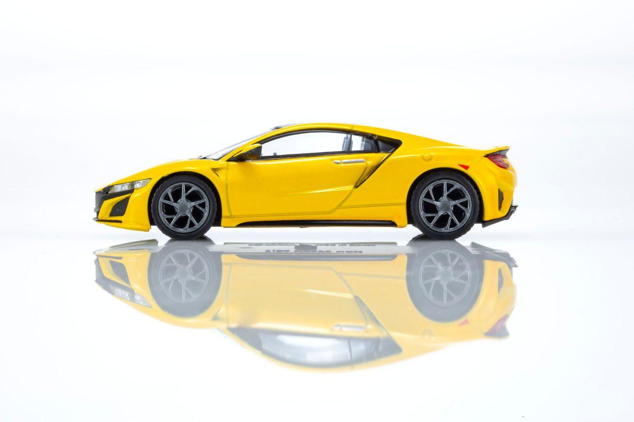 第2弾はホンダNSX。京商CVSミニカーシリーズ新展開No.02、ファミリーマートで6月30日発売