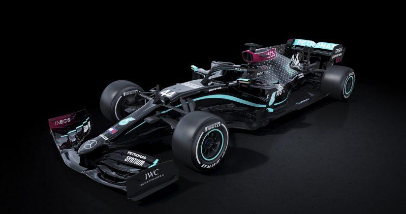 F1 | メルセデスF1、人種差別反対と多様性向上を表明し、シルバーアローをブラックに一新