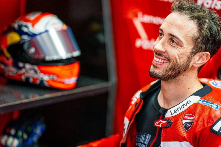 MotoGP | MotoGP:ドヴィツィオーゾ、骨折した左鎖骨の手術成功「完ぺきな状態でスペインGPを迎えられると確信」