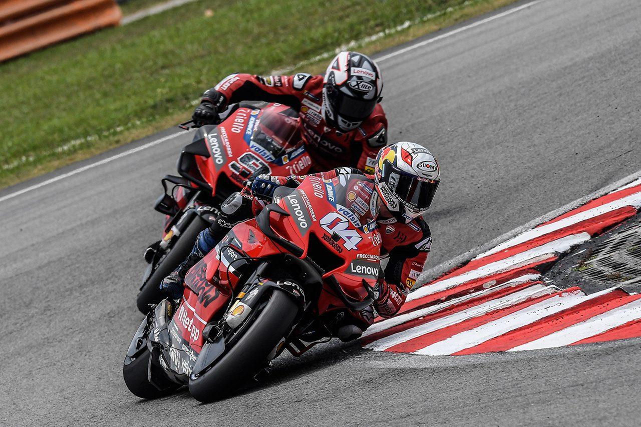 MotoGP:ドヴィツィオーゾ、骨折した左鎖骨の手術成功「完ぺきな状態で2週間後のスペインGPを迎えられると確信」