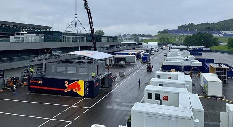 F1 | 【ギャラリー】いよいよ2020年F1が開幕へ。オーストリアGP開催に向け準備が進むレッドブルリンク