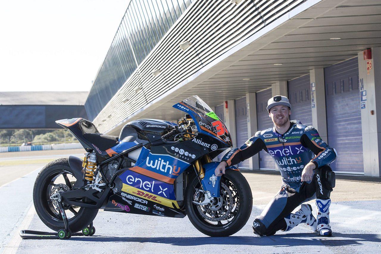 MotoGP:資金難により引退発表したコンフェイル、スミスの代役でMotoEから復帰