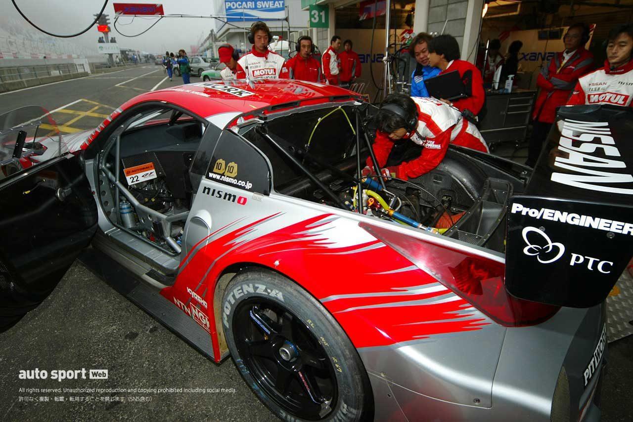 2004年GT500フェアレディZのリアハッチ内部