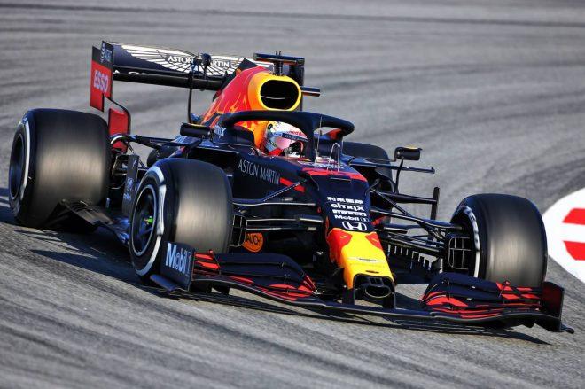 2020年F1バルセロナテスト マックス・フェルスタッペン(レッドブル・ホンダ)