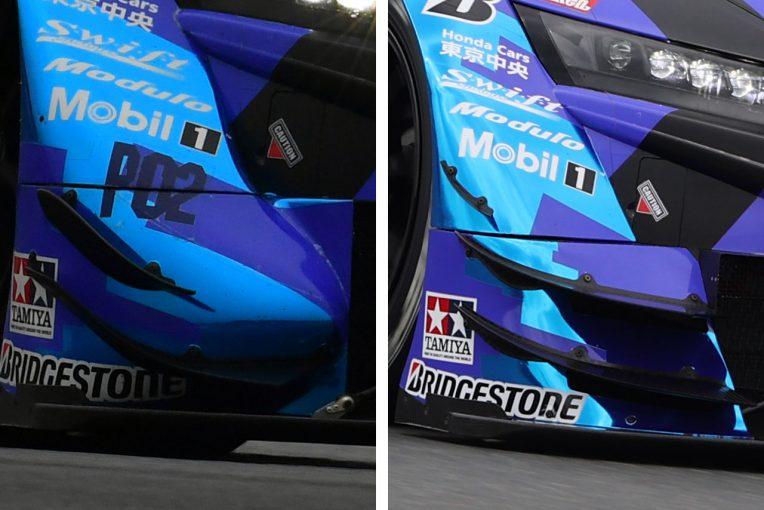 スーパーGT | 【スーパーGT公式富士テスト分析】ホンダNSX-GTが新型エアロを投入でGRスープラとの差を詰める
