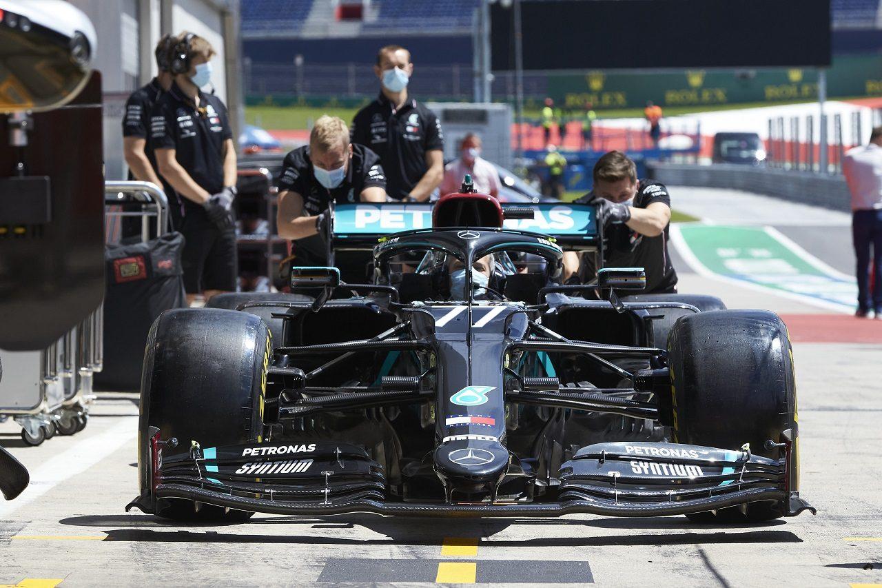 2020年F1第1戦オーストリアGP木曜 メルセデスW11