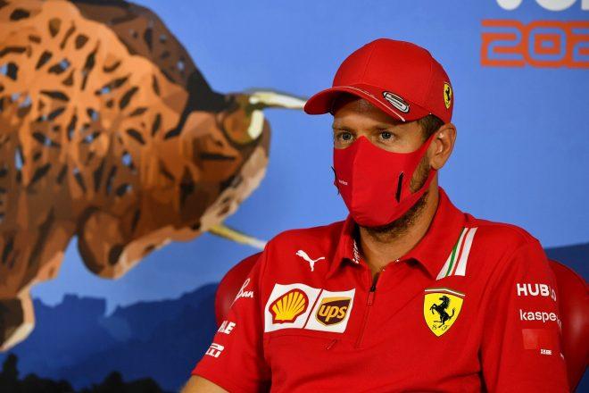2020年F1第1戦オーストリアGP木曜 セバスチャン・ベッテル(フェラーリ)
