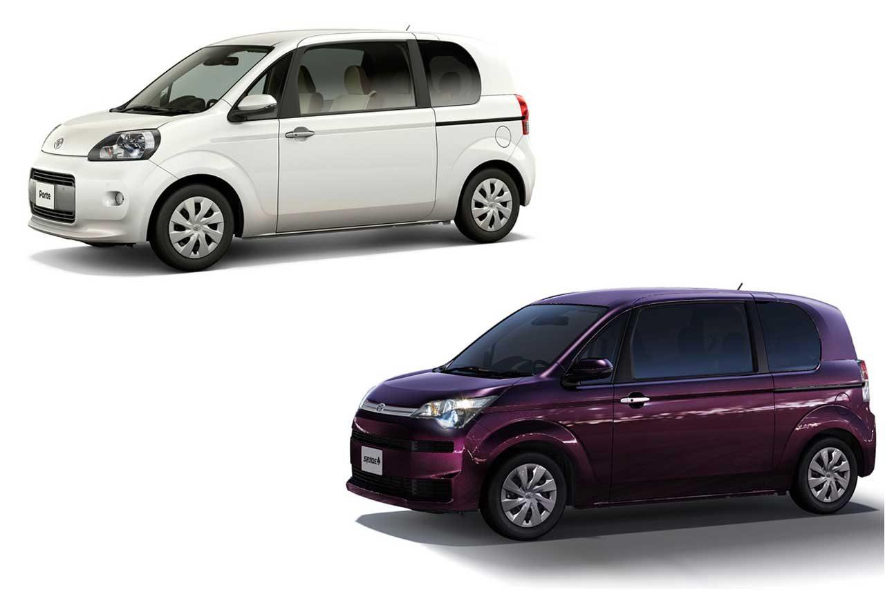 トヨタ、ポルテならびにスペイドに安全・安心装備を充実させた特別仕様車を設定
