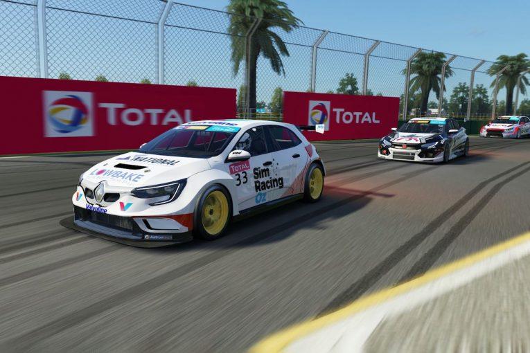 海外レース他   TCRオーストラリア:新生eシリーズ開幕戦はプジョー308とルノー・メガーヌが勝利
