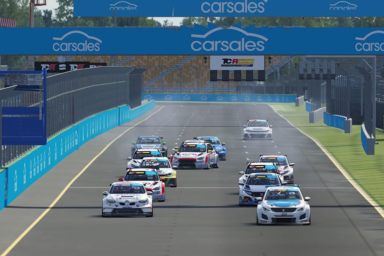 TCRオーストラリア:新生eシリーズ開幕戦はプジョー308とルノー・メガーヌが勝利