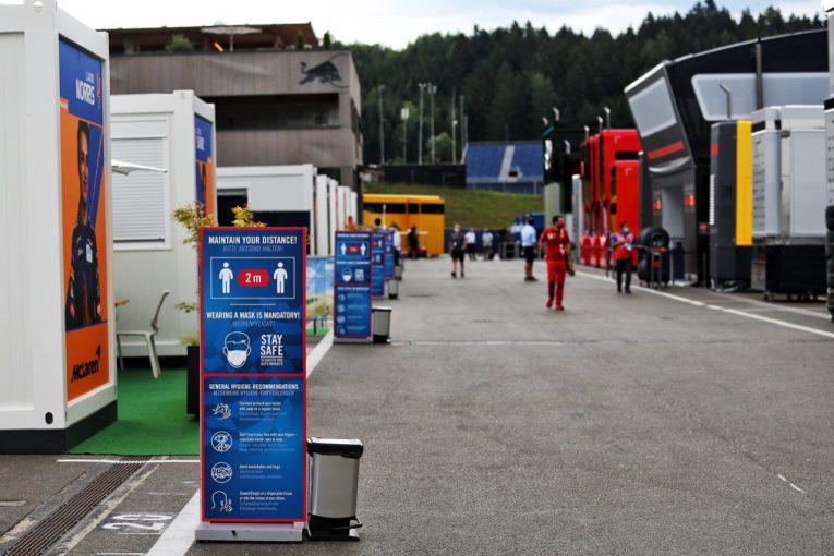 F1 | 【SNSピックアップ】F1オーストリアGP(2):withコロナ仕様の現場。ノリス先生とレーサーの食事を学ぼう