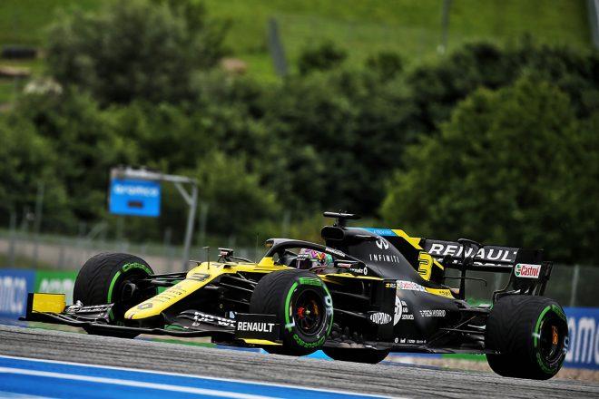 2020年F1第1戦オーストリアGP ダニエル・リカルド(ルノー)