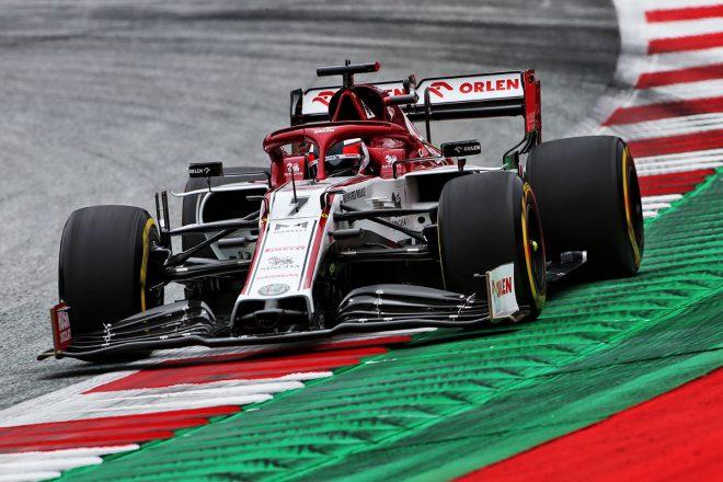 2020年F1第1戦オーストリアGP キミ・ライコネン(アルファロメオ)