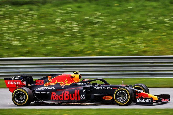 2020年F1第1戦オーストリアGP アレクサンダー・アルボン(レッドブル・ホンダ)
