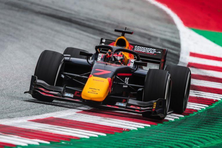 海外レース他 | 角田裕毅がポールポジション獲得【順位結果】FIA-F2第2戦オーストリア予選