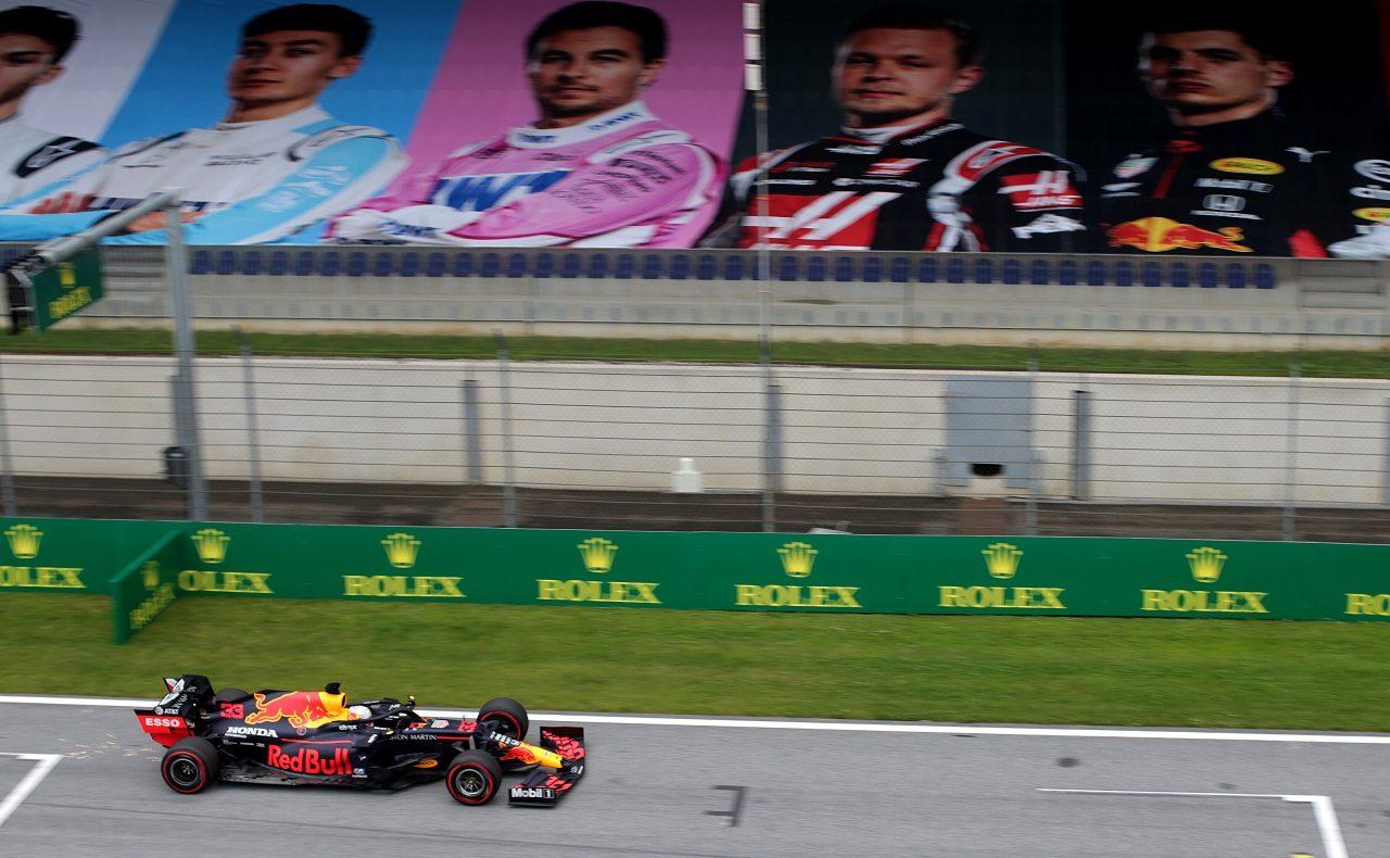 2020年F1第1戦オーストリアGP金曜 マックス・フェルスタッペン(レッドブル・ホンダ)