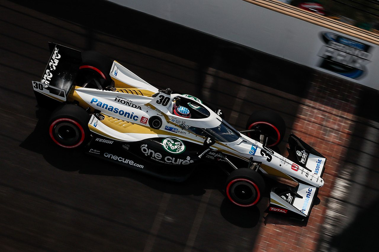インディカー第2戦:GMRグランプリ予選はパワーがポール奪取。琢磨は振るわず