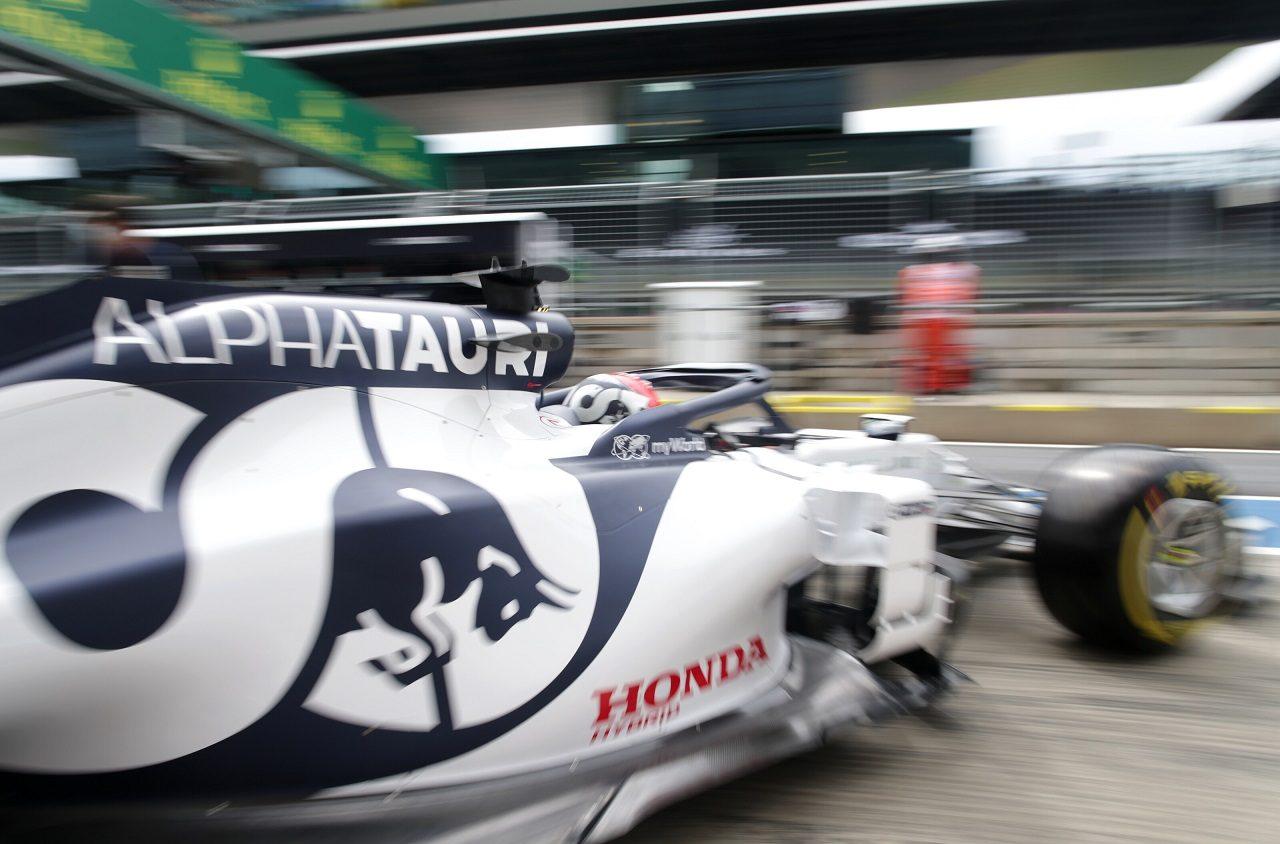 2020年F1第1戦オーストリアGP金曜 ダニール・クビアト(アルファタウリ・ホンダ)