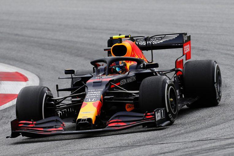 F1 | レッドブル・ホンダ分析:実力差が見えるのは予選か。課題は残るも、F1オーストリアGP初日は「基本的に順調」