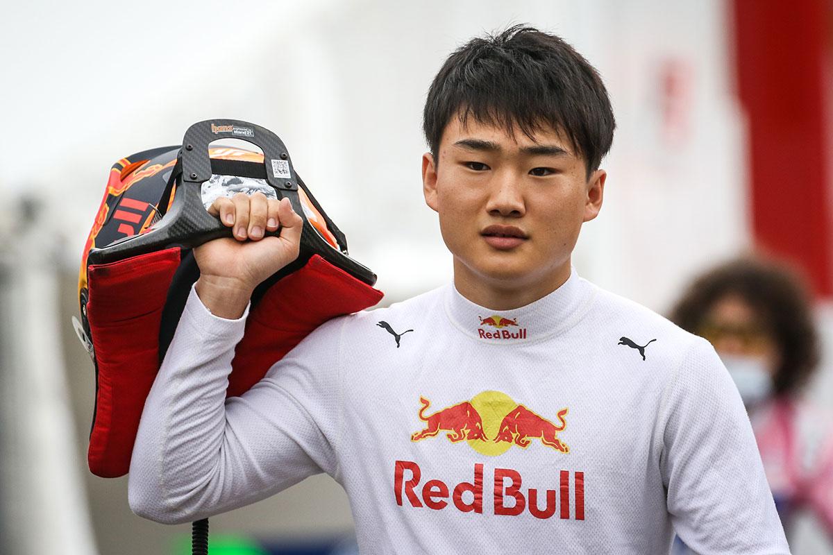 2020年FIA-F2 角田裕毅