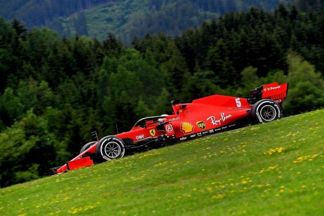 2020年F1第1戦オーストリアGP金曜 セバスチャン・ベッテル(フェラーリ)