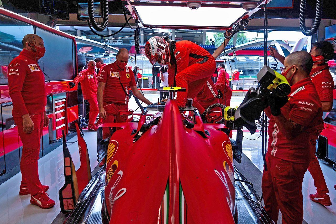 2020年F1第1戦オーストリアGP金曜 シャルル・ルクレール(フェラーリ)
