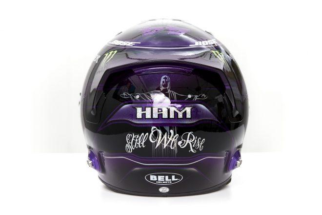 2020年F1第1戦オーストリアGP ルイス・ハミルトン(メルセデス)の新ヘルメットデザイン