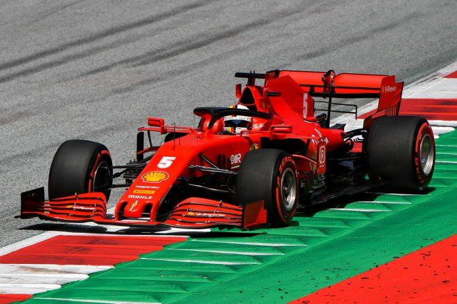 セバスチャンセバスチャン・ベッテル(フェラーリ)・ベッテル(フェラーリ) 2020年F1第1戦オーストリアGP セバスチャン・ベッテル(フェラーリ)