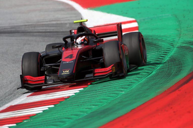 海外レース他 | FIA-F2第1戦オーストリア レース1:アイロット優勝。松下は9位。角田は洗礼を受ける