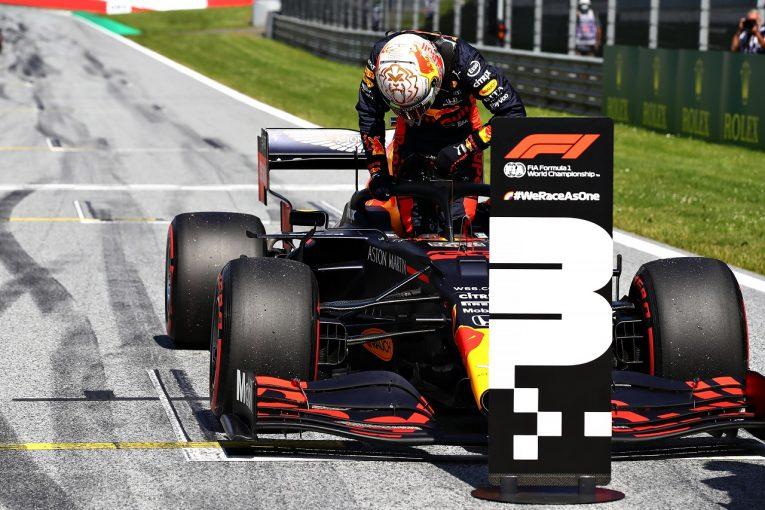 F1   ホンダF1が予選3番手「PUは問題なく機能。首位とのタイム差は小さくないが、決勝に向け有利な要素あり」と田辺TD