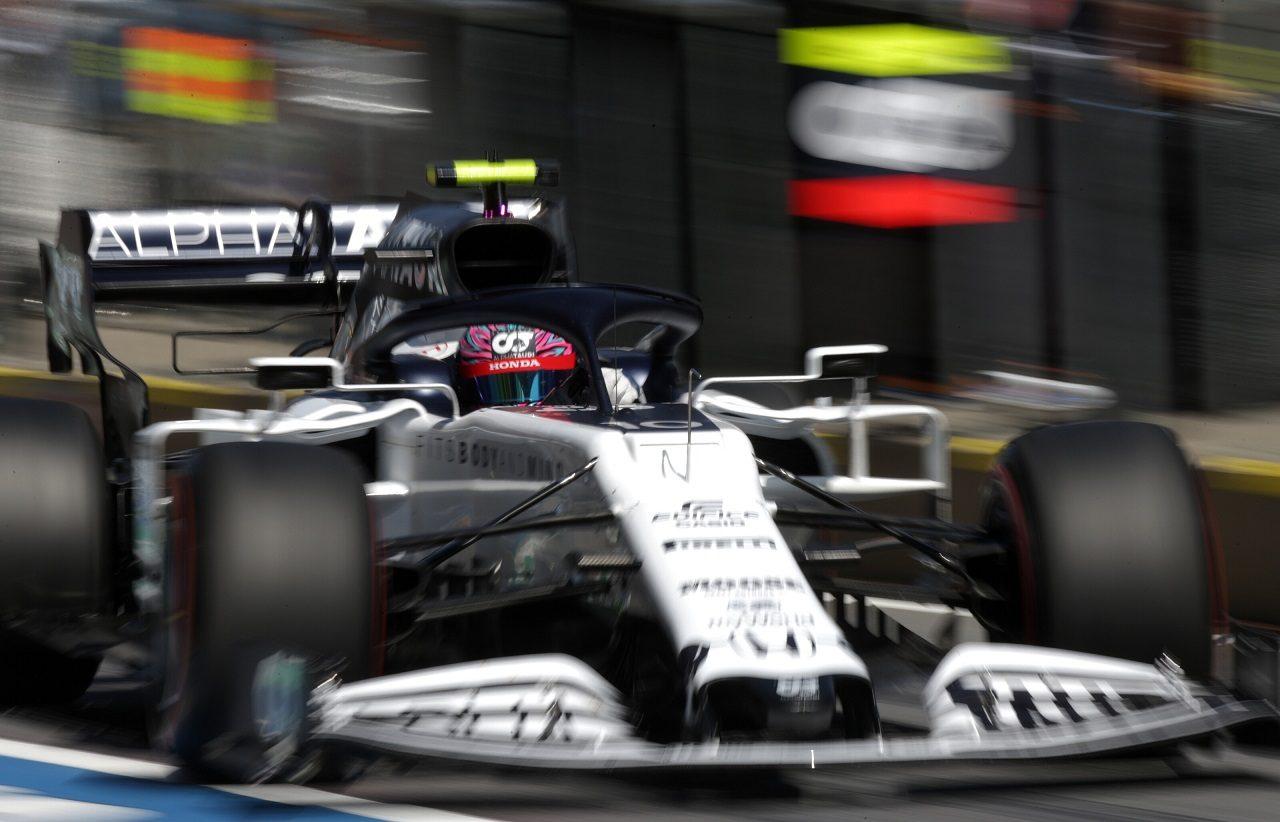 2020年F1第1戦オーストリアGP土曜 ピエール・ガスリー(アルファタウリ・ホンダ)