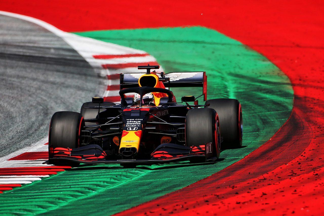 2020年F1第1戦オーストリアGP土曜 マックス・フェルスタッペン(レッドブル・ホンダ)