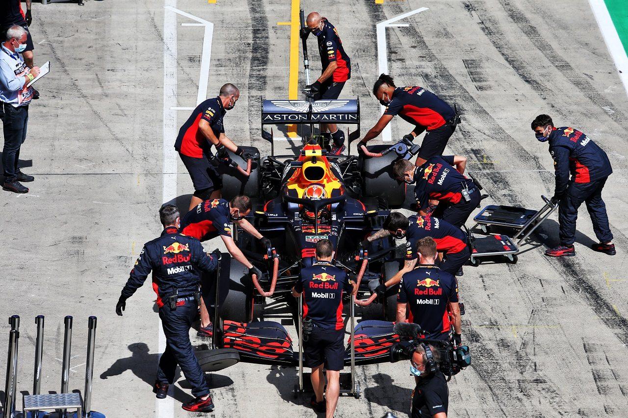 2020年F1第1戦オーストリアGP土曜 アレクサンダー・アルボン(レッドブル・ホンダ)