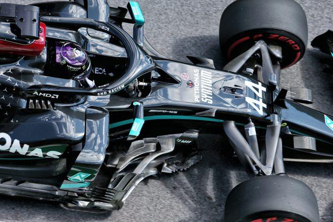 2020年F1第1戦オーストリアGP土曜 ルイス・ハミルトン(メルセデス)