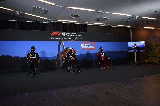 2020年F1第1戦オーストリアGP予選トップ3記者会見
