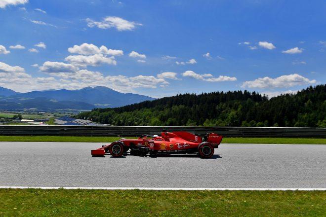 2020年F1第1戦オーストリアGP セバスチャン・ベッテル(フェラーリ)