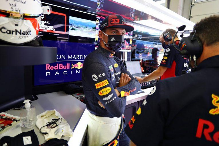 F1   レッドブル・ホンダF1のフェルスタッペン、表彰台を失い落胆「何が起きたのか分からない。開幕戦でトラブルとは…」