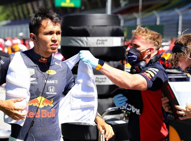 2020年F1第1戦オーストリアGP日曜 アレクサンダー・アルボン(レッドブル・ホンダ)