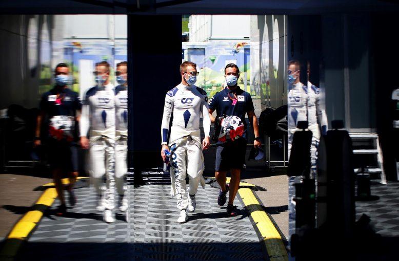 F1   クビアト「いいレースをしていたが、オコンとの接触で期待外れの結末に」アルファタウリ・ホンダ F1オーストリアGP