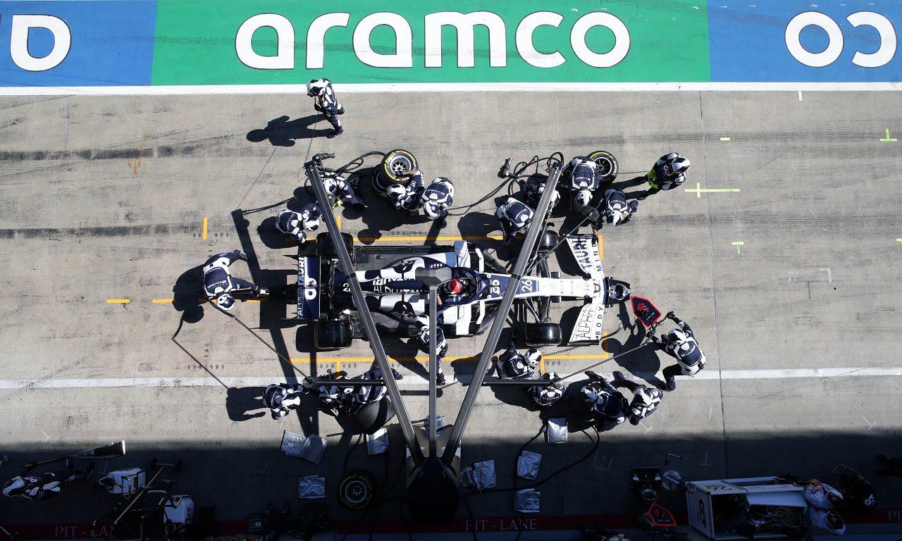 2020年F1第1戦オーストリアGP ダニール・クビアト(アルファタウリ・ホンダ)