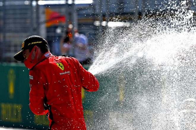 2020年F1第1戦オーストリアGP シャルル・ルクレール(フェラーリ)が2位