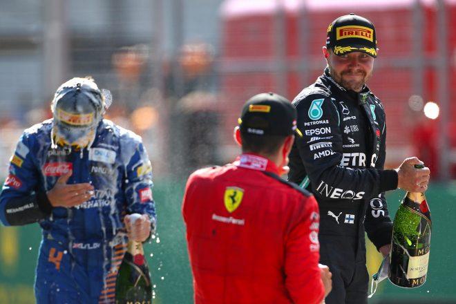 2020年F1第1戦オーストリアGP バルテリ・ボッタス(メルセデス)が優勝