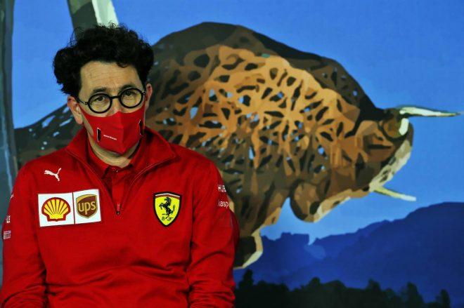 フェラーリF1のチーム代表を務めるマッティア・ビノット