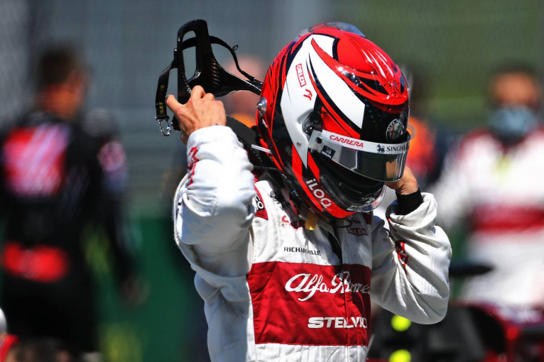 F1 | ライコネン「トラブルには驚いた。レースペースはポジティブなので改善を続けたい」:アルファロメオ F1オーストリアGP日曜