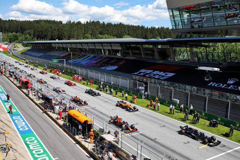 F1   2020年F1第2戦シュタイアーマルクGP、TV放送&タイムスケジュール