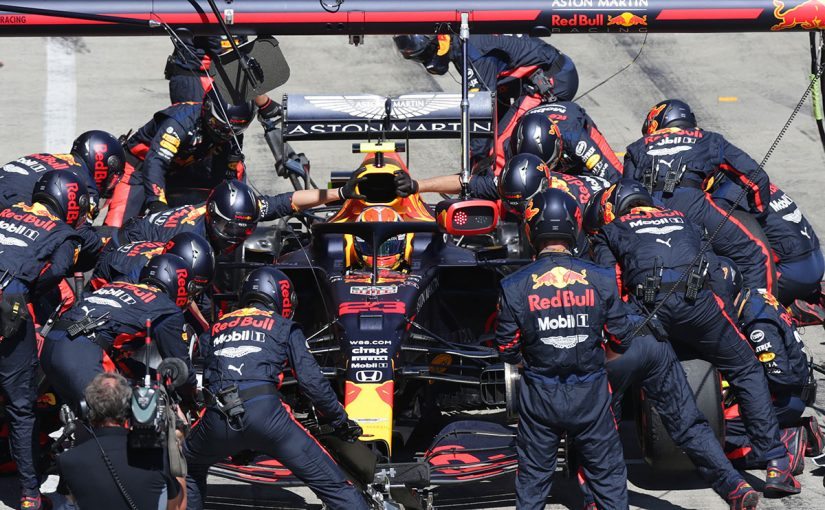 F1 | 【レース後会見の気になる一言】メルセデスF1と異なる戦略で優勝を狙っていたレッドブル「我々は非常に強力だった」