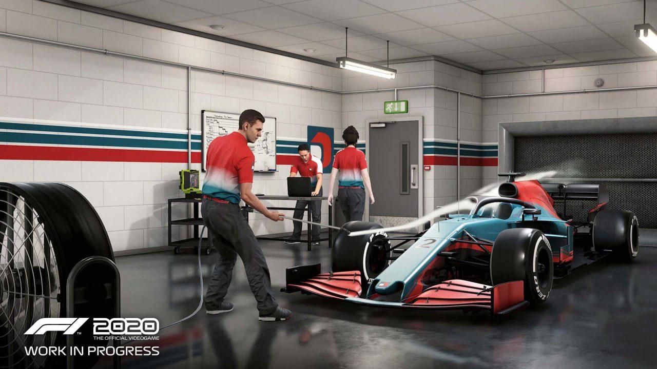 "F1公認ゲーム『F1 2020』マイチームの詳細が公開。""11番目のチーム""として選手権へ挑む"