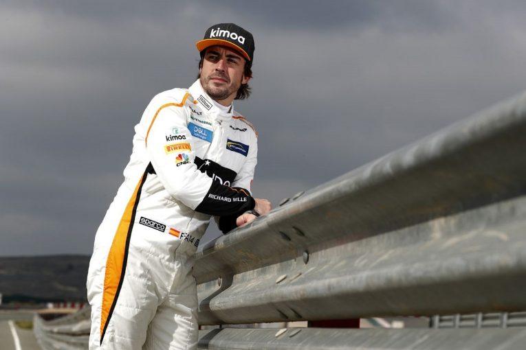 F1   39歳でF1復帰するアロンソ、年齢の心配を否定「肝心なのは速さ。ベストの状態で2021年に備えている」